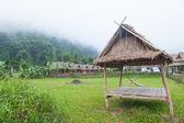 Hut in the fields — Stockfoto