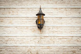 Lamp on the wall — Stock Photo