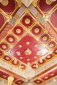 Artistic ceiling designs Thailand — Stock Photo