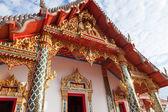 Temple doors and roof — Foto de Stock