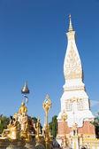 Biała pagoda — Zdjęcie stockowe
