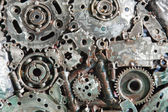 Piece of gears — Stock Photo