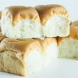 Stock Photo: Bread on white background