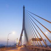 Rama VIII Bridge in the morning — Stock Photo
