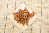Fried pork — Stock Photo