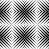 Optical illusion seamless pattern — Stock Vector