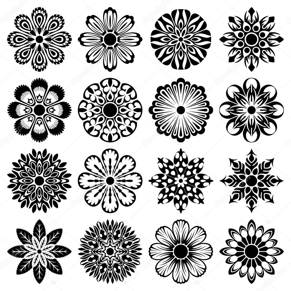 Abstract floral shapes — Stock Vector #14129525