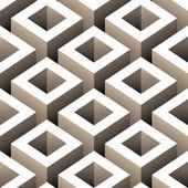 Lådor sömlös bakgrund illustration — Stockvektor