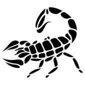 Tattoo scorpio — Stock Vector