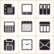 Office icons set — Stock Vector #24445417