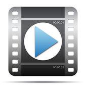 Movie film icon — Stock Vector