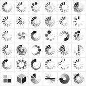 загрузка набора показателей — Cтоковый вектор