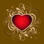 Valentines heart — Stock Vector #6674634
