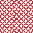 Red circles with white stars seamless pattern — Stock Photo