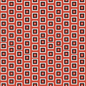 Red squares seamless pattern — Stock Photo