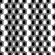 Stock Photo: Black and white dots nuances XI
