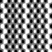Black and white dots nuances XI — Stock Photo