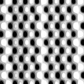 Black and white dots nuances X — Stock Photo