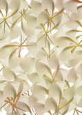 Colored beige flowers background — Stock Photo