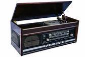 Retro vinyl gramophone — Stock Photo