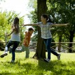 Children playing tag — Stock Photo #12354731