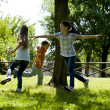 Stock Photo: Children playing tag