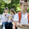Bullying after school — Stock Photo