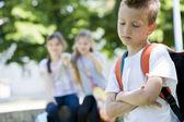 Intimidación después de la escuela — Foto de Stock