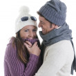 Winter Couple — Stock Photo #4207442