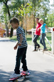 Young skateboarder — Стоковое фото
