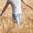Man in a field — Stock Photo #48685589
