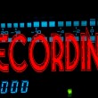 Recording sign — Stock Photo #20405961