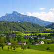 Beautiful Austrian countryside landscape — Stock Photo