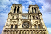 Cathedral Notre Dame de Paris, France — Stock Photo