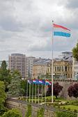 Luxemburg flag — Stock Photo