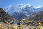 Mount Island Peak (Imja Tse) base camp, Nepal — Stockfoto
