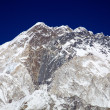Stock Photo: Nuptse mountain massif in Everest region, Nepal