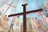 Magellan's Cross in Cebu, Philippines — Stock Photo