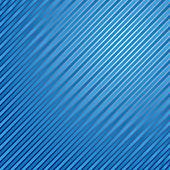 Gestreepte lineaire blauwe achtergrond — Stockvector