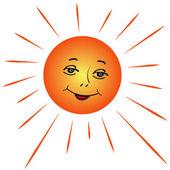 Il sole — Vettoriale Stock