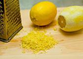 Lemon peel — Stock Photo