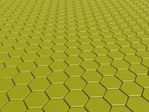 3d background with hexagons — Stock Photo