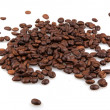 Stock Photo: Coffee Beans isolated on white