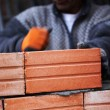Construction mason worker bricklayer — Stock Photo #16784651