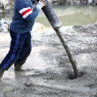 Concrete pouring - Foto de Stock  