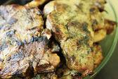 Juicy grilled pork chop — Stock Photo