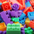 Plastic building blocks — Stock Photo #18607383