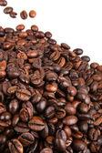 Kaffebönor. — Stockfoto