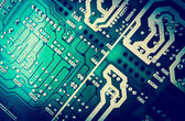Close-up of electronic circuit board — Stock Photo