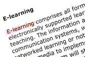 E-lärande — Stockfoto